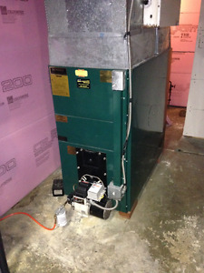 Oil Furnace and Indoor Roth Oil Tank