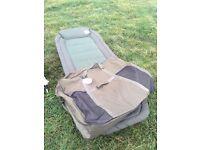 Leeda Rogue Bedchair & Bag