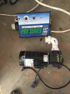 Hot Tub heater and pump