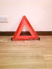 Advance Warning Hazard Triangle