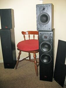 2 + 2 SURROUND SOUND SPEAKERS by PROFILE