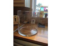 Large round fish tank 20ltr