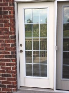 LARGE PATIO/DECK DOORS  WITH SCREEN SLIDER WITH ABOVE WINDOW Stratford Kitchener Area image 5