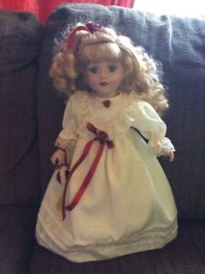 Hand crafted porcelain Anna of Green gable doll