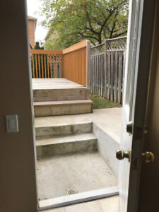 One Bedroom Walkout Furnished Basement Apartment