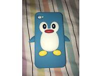 iPhone 4 penguin case