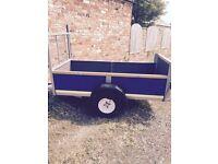 Refurbished car trailer to a high standard