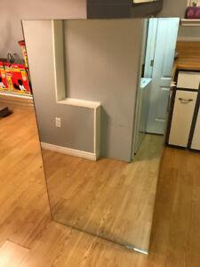 Beautiful Mirror - approx 4.5'x2.5'