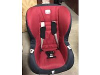 Britax car seat and base £50