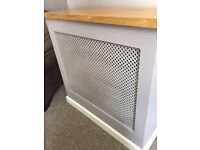 Free standing fire/radiator cover