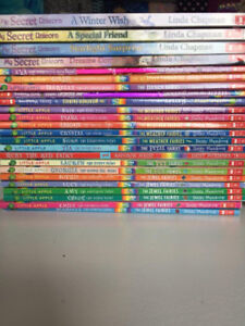50 CHAPTER BOOKS - EXCELLENT CONDITION SCHOLASTIC