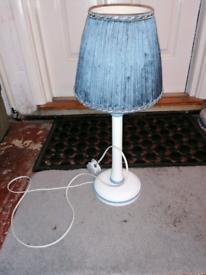 Lamp, blue