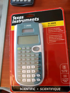 TI-30XS MultiView Texas Intrument Calculator