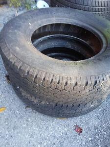 Like New Goodyear Wrangler RT/S P205/75 R15 Tires