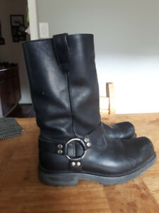 Harley Davidson Leather Boots size 8.5