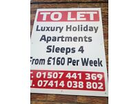 Mablethorpe holiday let only £160 per week