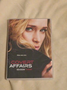 Covert Affairs DVD season 3 (2013) 4 discs (played just once)