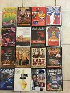 MUSIC FESTIVALS / CONCERTS DVDs * VARIOUS/WIDE SELECTION! London Ontario image 1
