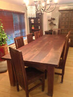 DINING ROOM TABLE TEAK