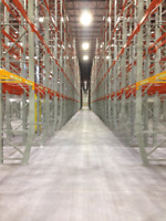 Steel Building Erection and Pallet Racking Installs