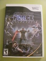 Jeu Star Wars- The force unleashed pour Wii