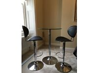 Bar stools & table (originally from John Lewis)