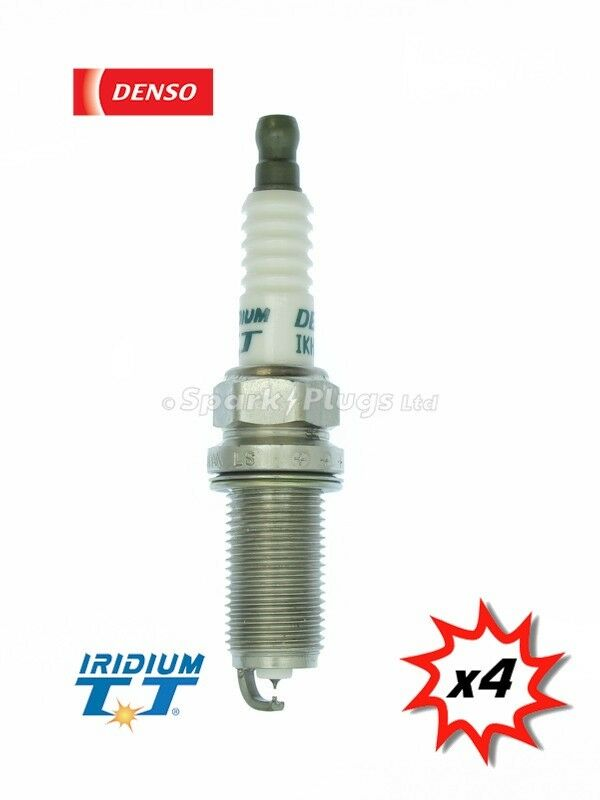4x Denso IKH20TT Iridium TT Spark Plug 4704. Set Of 4 Plugs. Fast Despatch