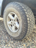 1997-2002 Jeep Wrangler (TJ) ECCO Rims & Toyo Open Country Tires