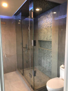 10mm Tempered Glass Shower Doors /Mirror/ Stairs