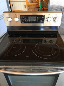Samsung Stainless, Convection, Double Oven, Self Cleaning Range