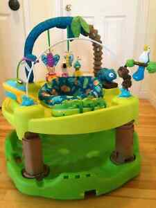 ExerSaucer Triple Fun Activity Center - Life in the Amazon