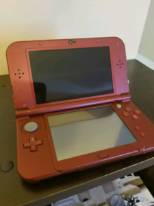 *new* 3ds XL with charger and game.