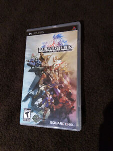 Final Fantasy Tactics : W.o.t.L.  PSP in great condition