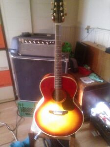 Beautiful Samick Acoustic Guitar