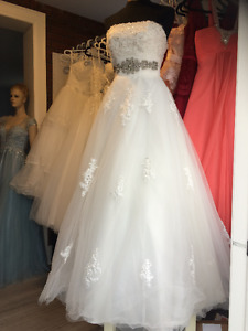 wedding gown, evening, prom, dancing wear and alterations