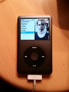 Ipod classic 120 gigs gigabytes