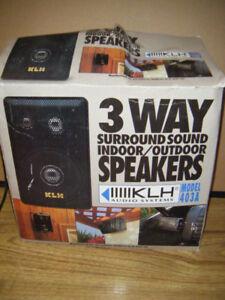 Indoor/Outdoor 3 Way Speakers