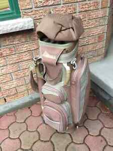 Golf: Bag, Cart, Metal Quad Driver, Child's LH Set, Men's Shoes
