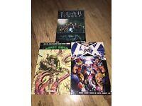 3 Marvel graphic novels, RRP over £45, £15 B44