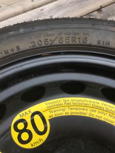 Volkswagen Jetta Spare Tire
