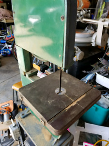 BAND SAW w solid custom stand bandsaw