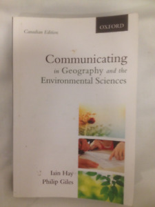 Communicating in Geography & theEnvironmental Sciences  Dal Text
