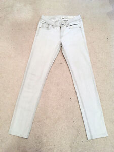 "RAG & BONE ""The Skinny"" Jeans, Faded Grey/White, Wedge, Size 27 London Ontario image 4"