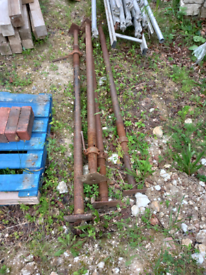 ACROW STEEL SUPPORT BEAMS