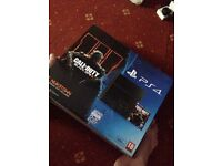 PS4 Console, 1 Pad & 3 Games **No Online**