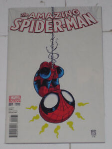Marvel Comics Amazing Spider-Man#1 Skottie variant comic book