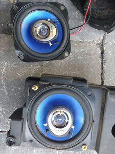"Alpine SPS-1029S 4"" 2-way Car Speakers"