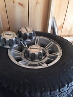 Gm 8 bolt H2 wheels and Tires