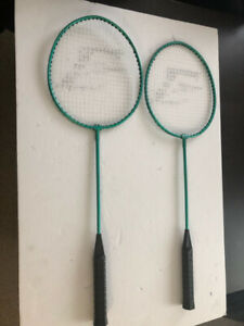 Badminton Rackets Eastpoint used great condition