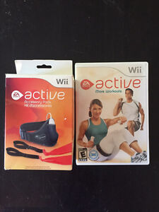 Wii Active Accessary Pack and Additional Workouts
